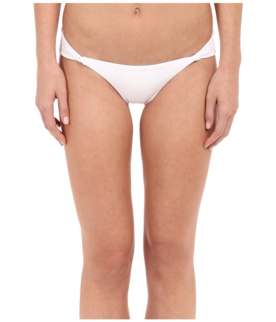 Vix - Matelasse Loop Brazilian Bottom (Solid White) Women's Swimwear