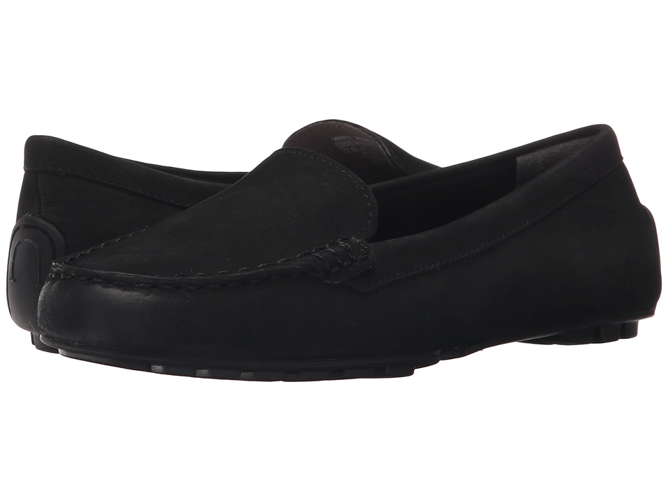 Rockport Cambridge Boulevard Moccasin (Black Nubuck Wash) Women