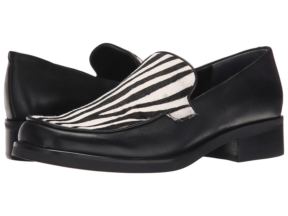 Franco Sarto Bocca 2 (Black/Zebra Pony) Women