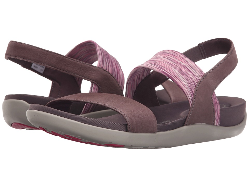 Rockport - truWALKzero III Stretch 2 Band Sandal (Sparrow Embossed Nubuck) Women's Sling Back Shoes