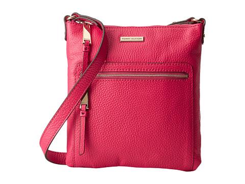 Tommy Hilfiger - North South Crossbody (Raspberry) Cross Body Handbags