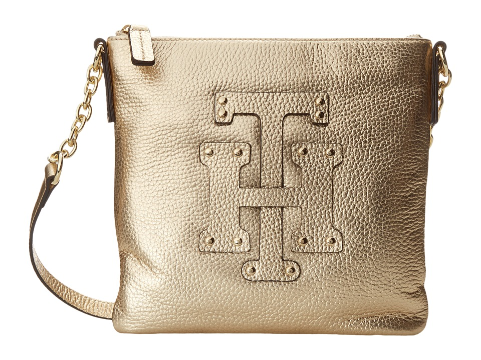 Tommy Hilfiger - Patch-Crossbody (Metalic Gold) Cross Body Handbags