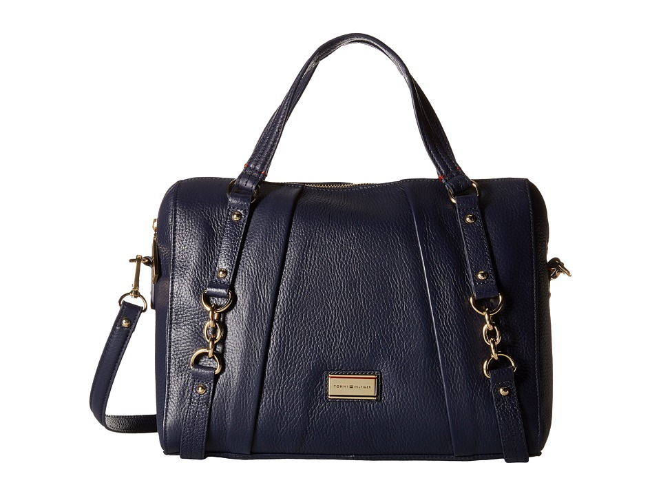 Tommy Hilfiger - Lily-Convertible Bowler (Tommy Navy) Handbags