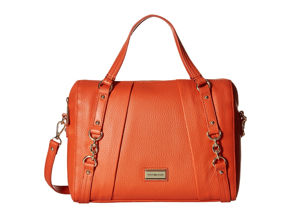 Tommy Hilfiger - Lily-Convertible Bowler (Papaya) Handbags