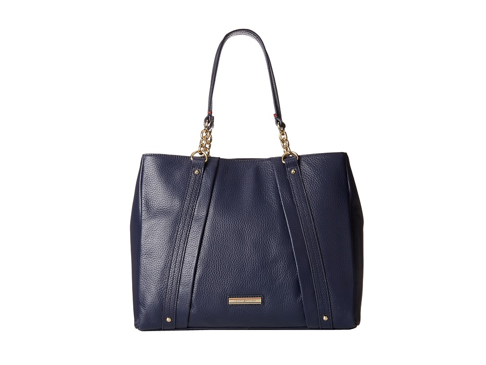 Tommy Hilfiger - Lily-Shopper (Tommy Navy) Handbags