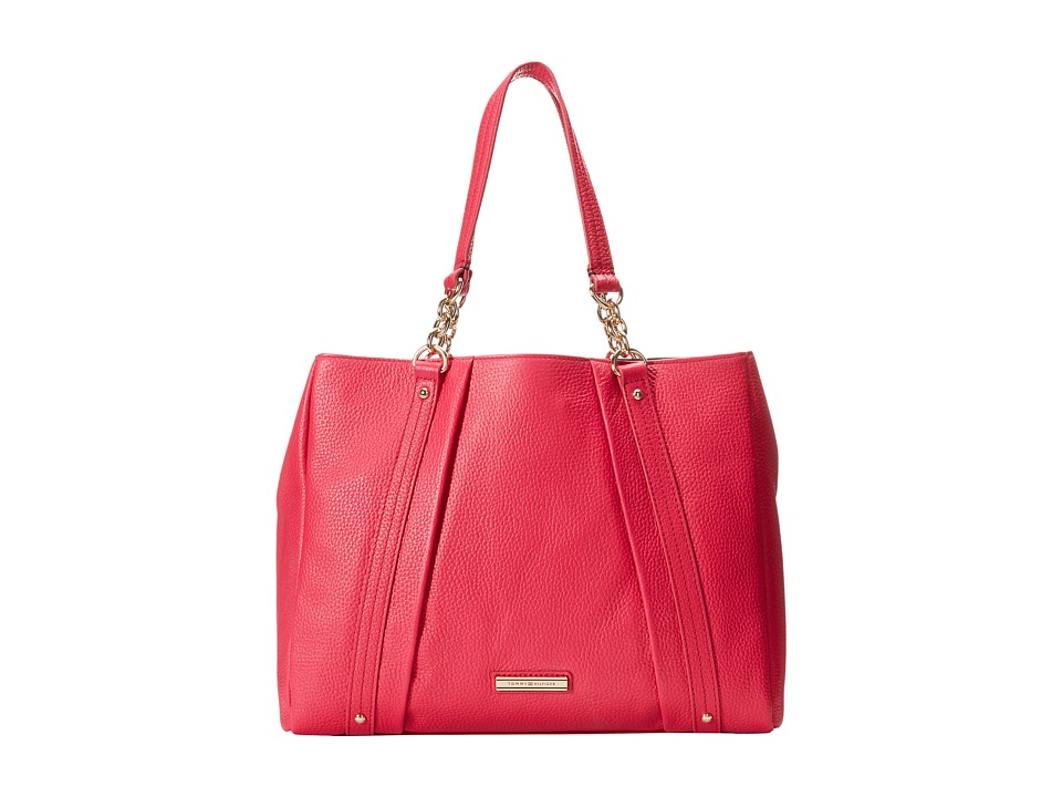 Tommy Hilfiger - Lily-Shopper (Raspberry) Handbags