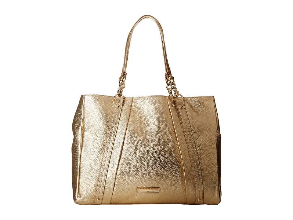 Tommy Hilfiger - Lily-Shopper (Metalic Gold) Handbags