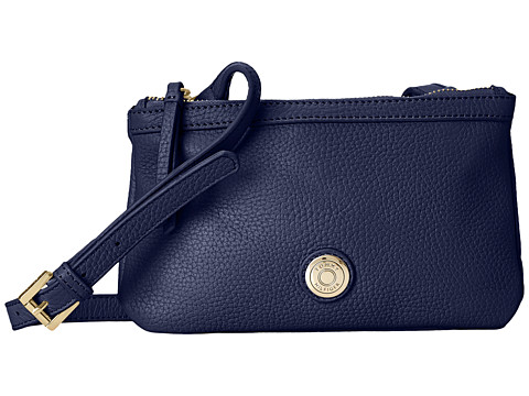 Tommy Hilfiger - Jane-Double Top Zip (Cobalt) Handbags
