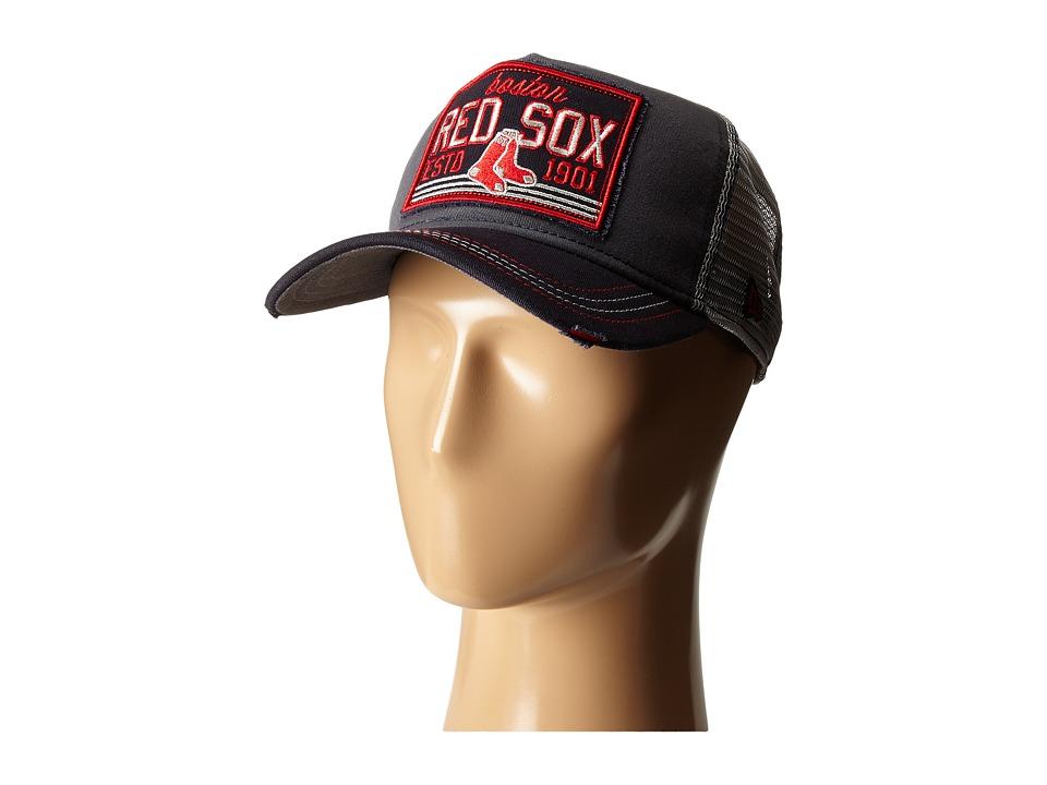 New Era - Trucker Tear Boston Red Sox (Dark Gray) Caps