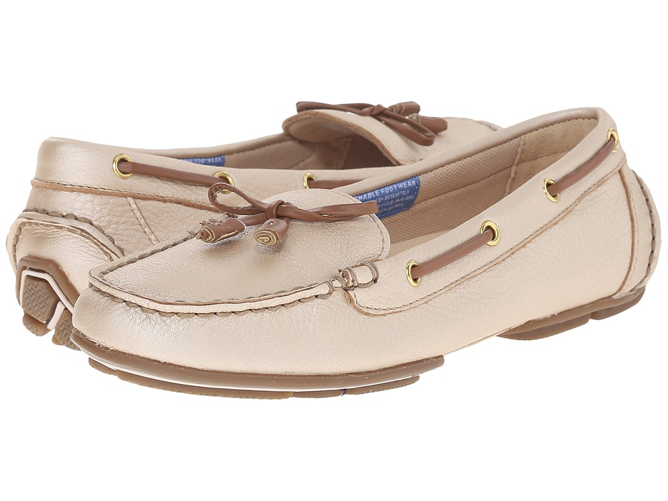 Rockport - Shore Bets II Bow Boat Shoe (Gold) Women's Shoes