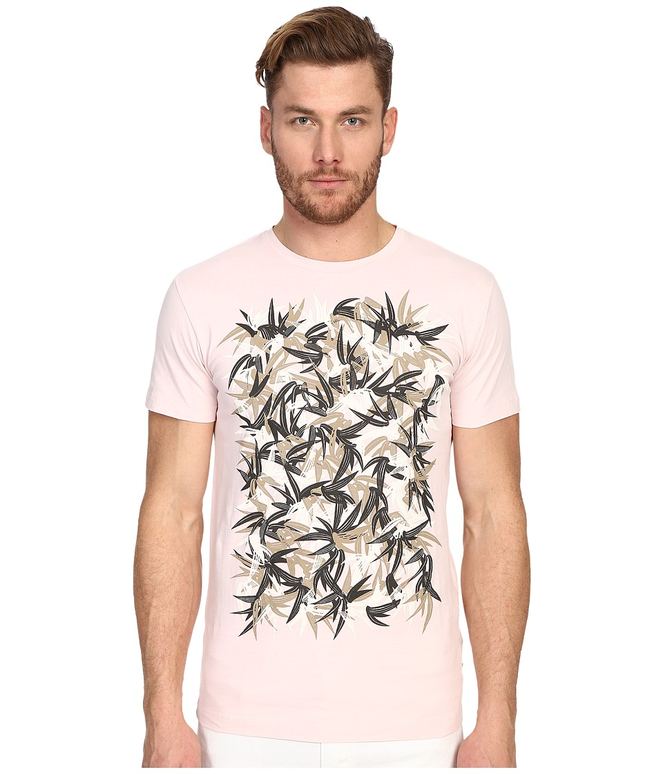 Marc Jacobs - Summer Graphic Slim Jersey T-Shirt (Pale Pink) Men's Short Sleeve Pullover