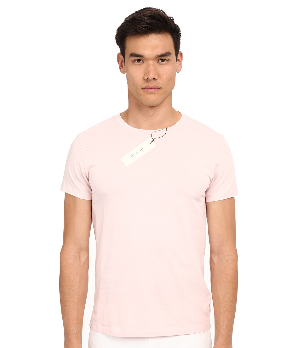 Marc Jacobs - Summer Slim Jersey T-Shirt (Pale Pink) Men's T Shirt