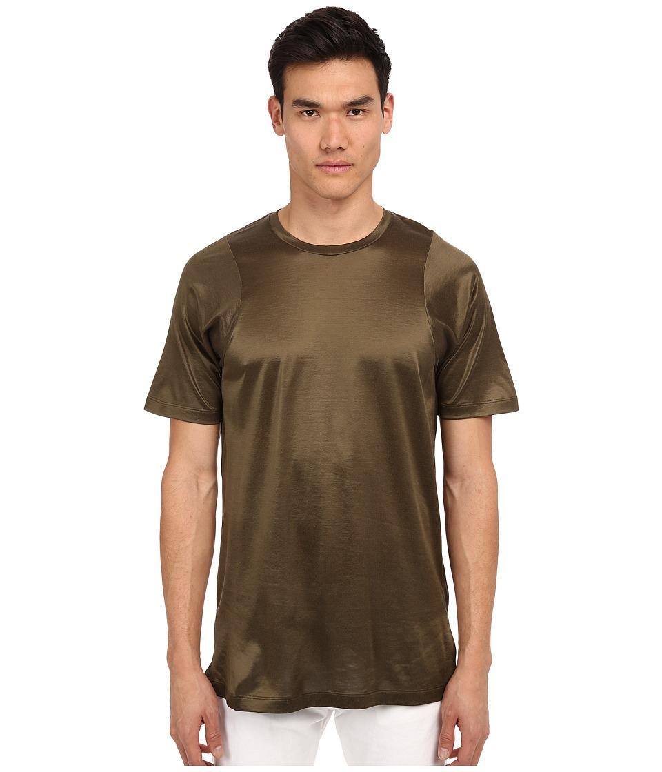Marc Jacobs - Sunset Oversize Jersey T-Shirt (Army Green) Men's T Shirt