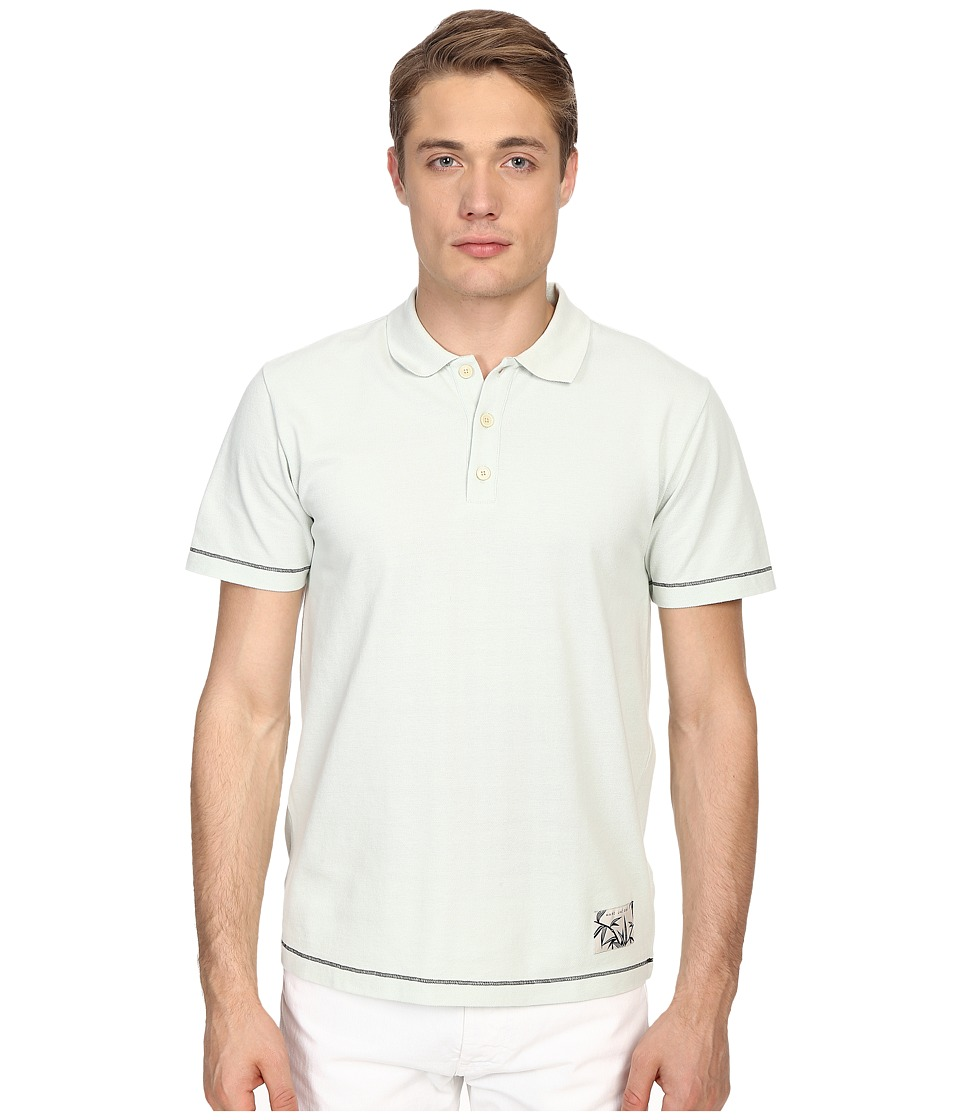 Marc Jacobs - New Piquet Slim Fit Polo (Mint Green) Men's Clothing