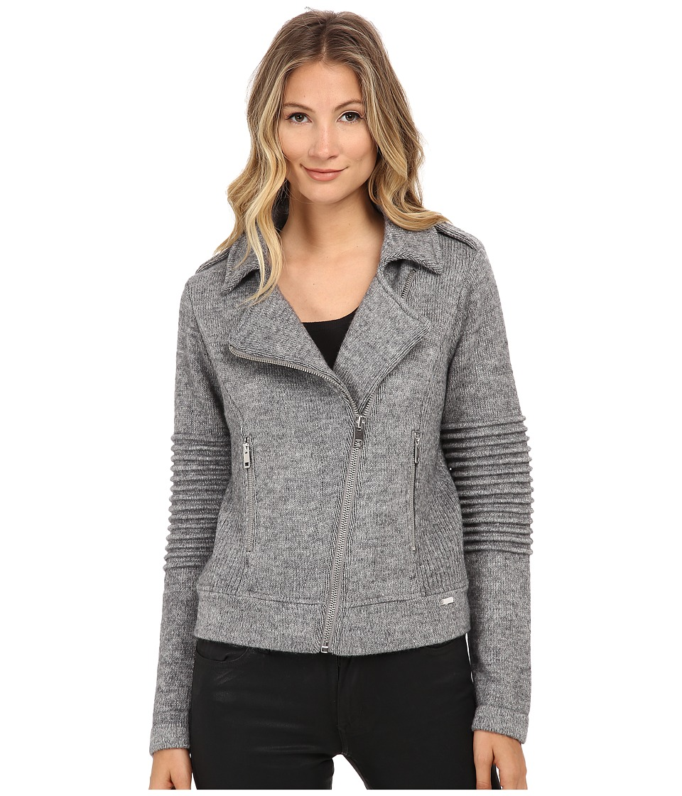 Diesel - M-Onaplain Jacket (Dark/Grey) Women's Coat