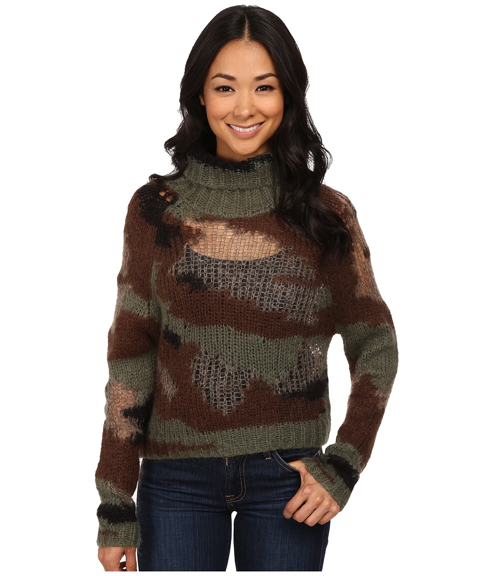Diesel - M-Comeas Pullover (Olive/Green) Women