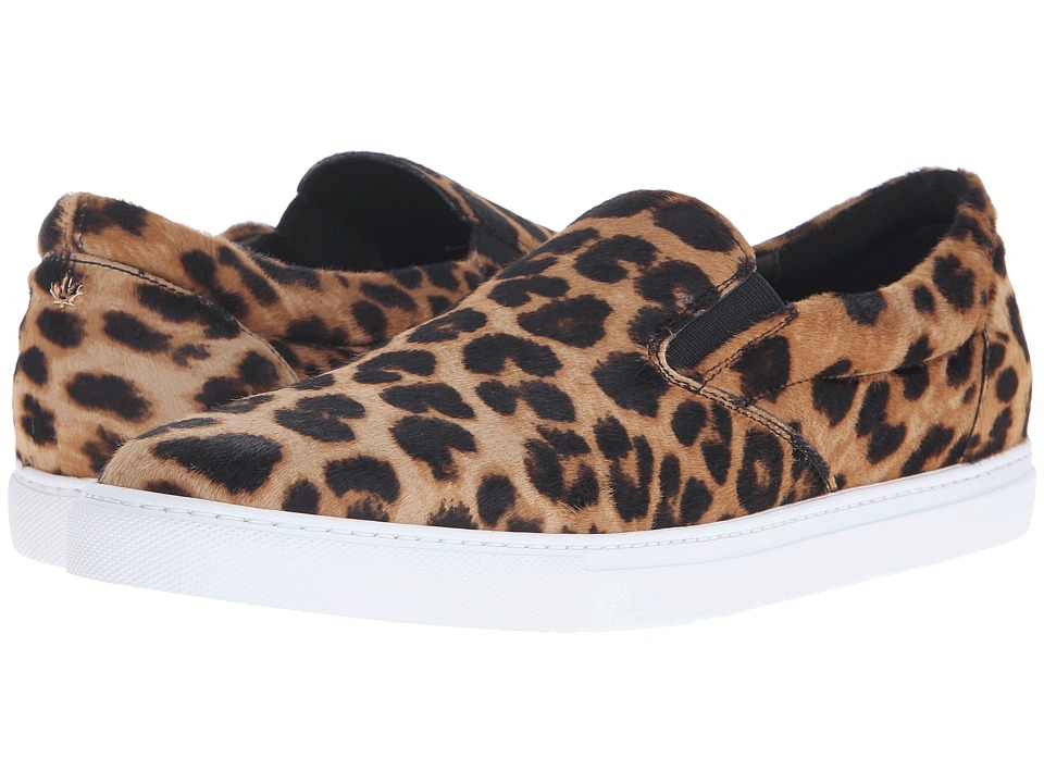 DSQUARED2 - Tux Pony Slip-On (Leopard) Men's Slip on Shoes