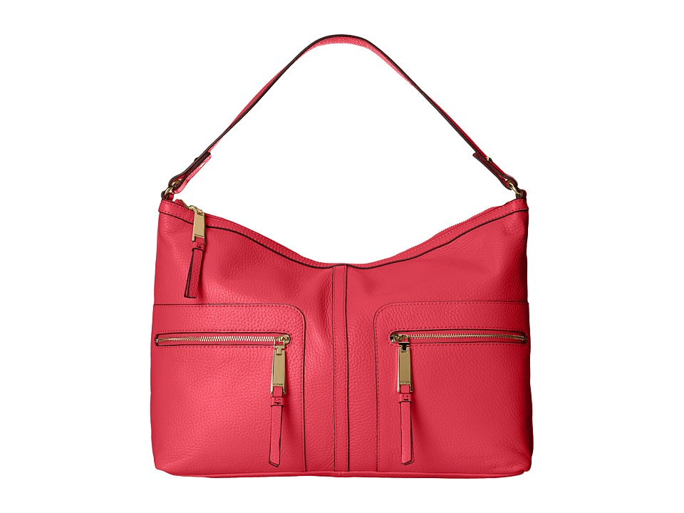 Tommy Hilfiger - Large Hobo (Raspberry) Hobo Handbags