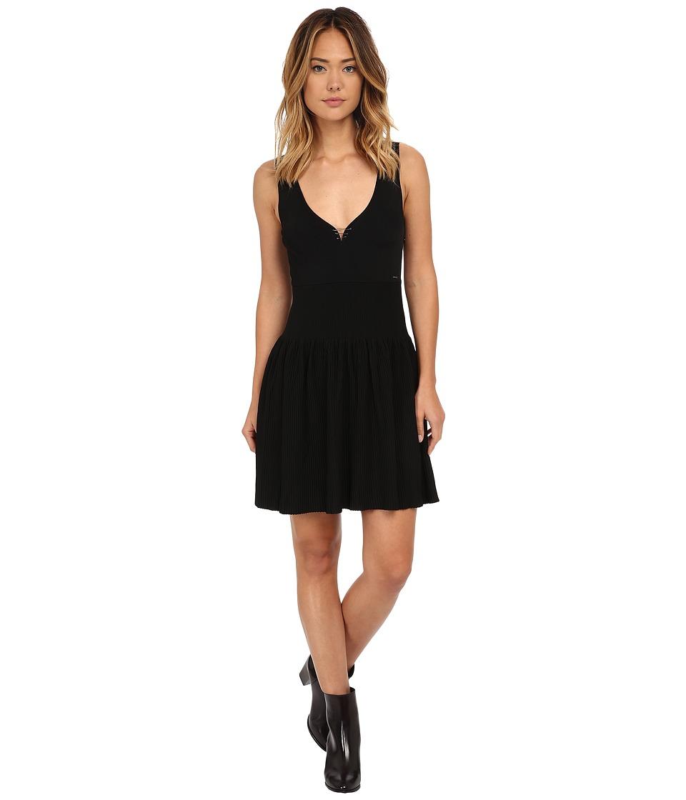 Diesel - M-Breed Dress (Black) Women's Dress