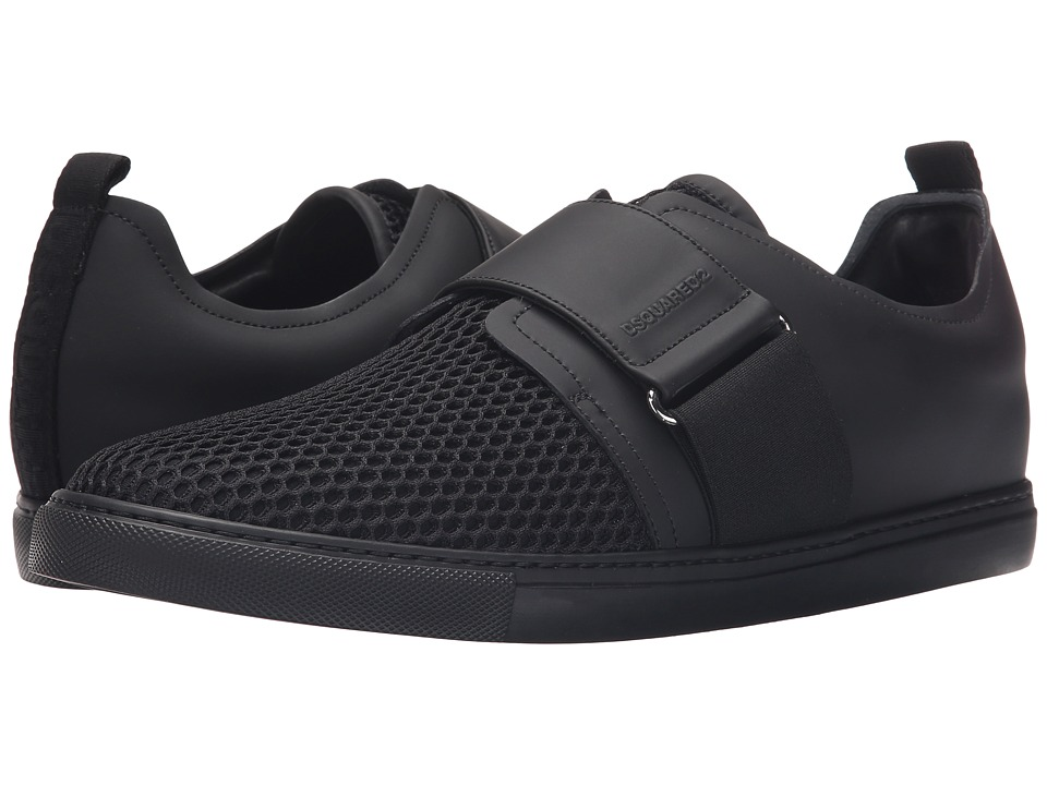 DSQUARED2 - Beehive Tech Sneaker (Black) Men's Shoes