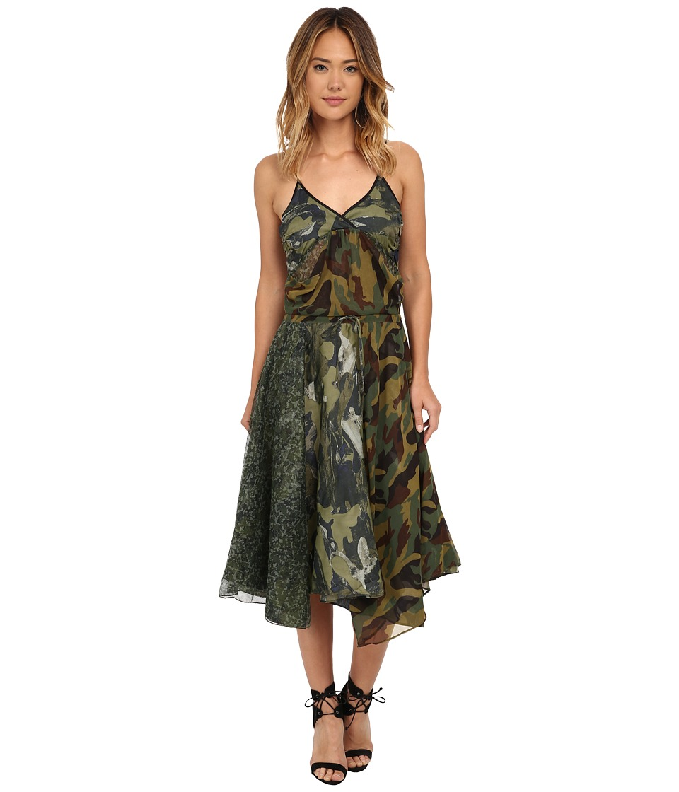 Diesel D-Flour Dress (Olive/Green) Women