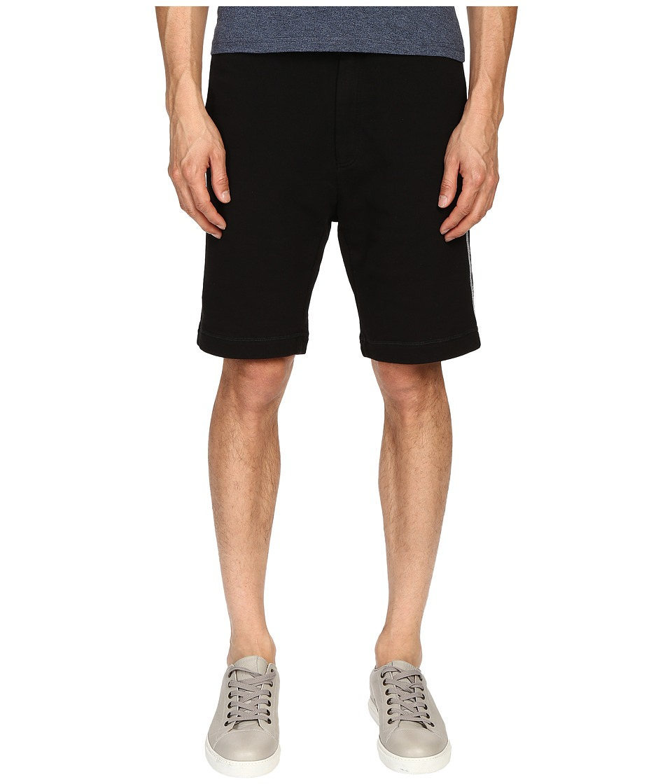 Marc Jacobs - New Cotton Felpa Shorts (Black) Men's Shorts