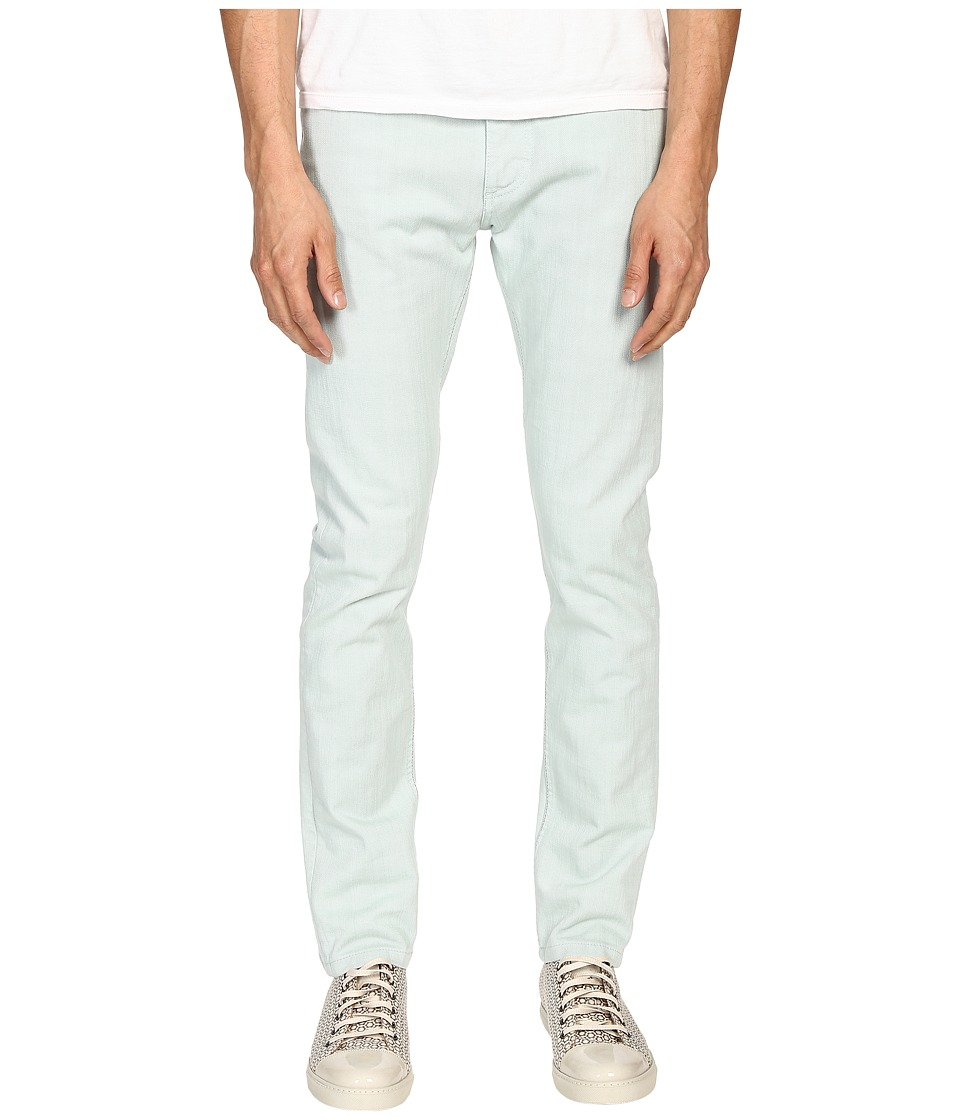 Marc Jacobs - Overdyed Slim Fit Denim in Mint (Mint) Men's Jeans