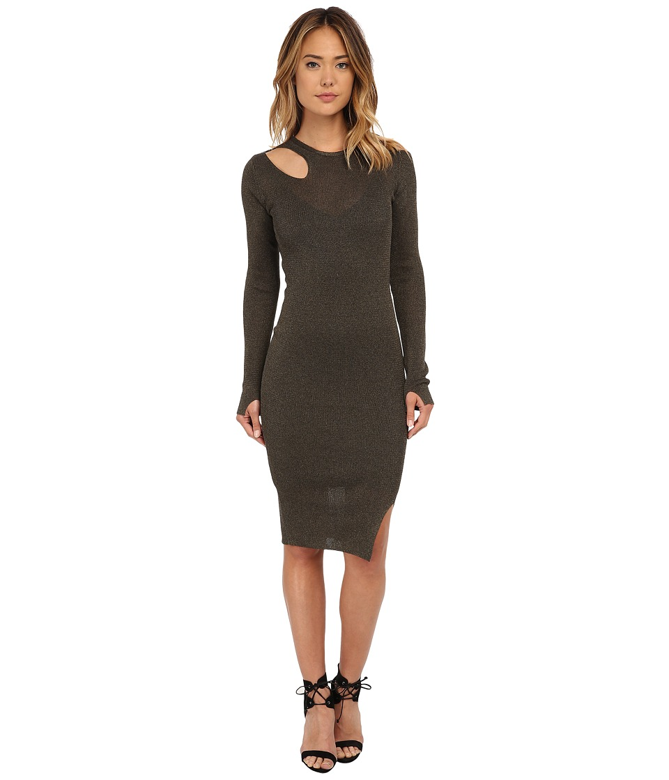 Diesel - M-Amy Dress (Olive/Green) Women's Dress