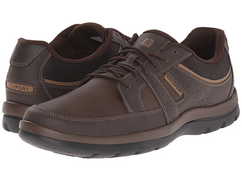 Rockport - Get Your Kicks Blucher (Brown) Men's Sandals