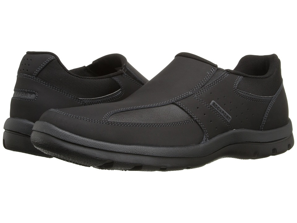 Rockport - Get Your Kicks Slip-On (Black) Men's Slip on Shoes