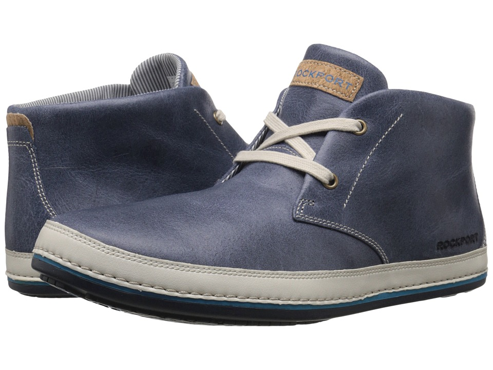 Rockport Harborpoint Chukka (Navy) Men