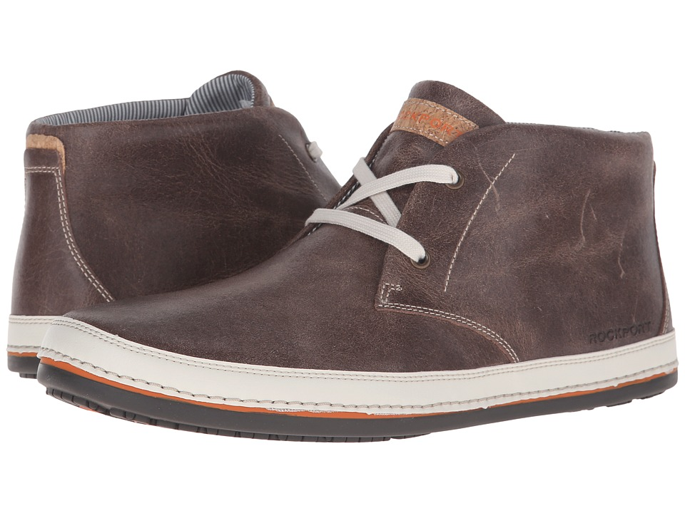 Rockport - Harborpoint Chukka (Chocolate) Men's Lace-up Boots