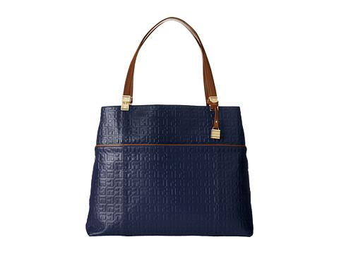 Tommy Hilfiger - Hinge-Tote (Cobalt) Tote Handbags