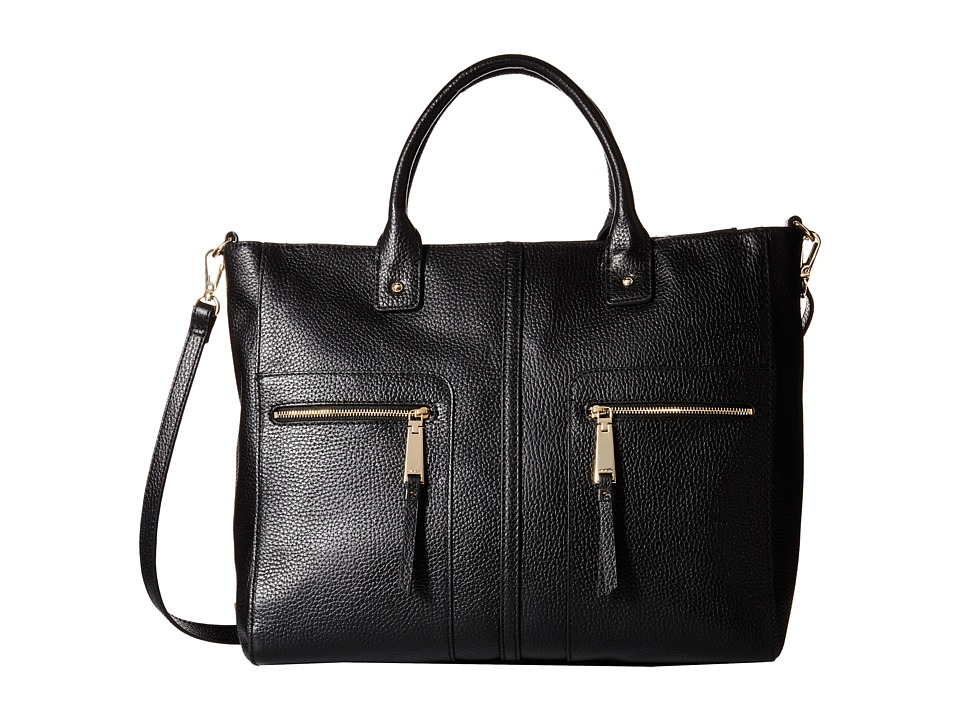 Tommy Hilfiger - Convertible Tote (Black) Tote Handbags