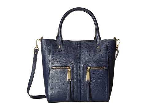 Tommy Hilfiger - Mini North South Tote (Tommy Navy) Tote Handbags