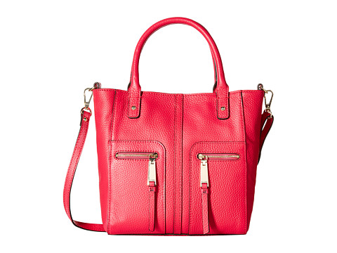 Tommy Hilfiger - Mini North South Tote (Raspberry) Tote Handbags