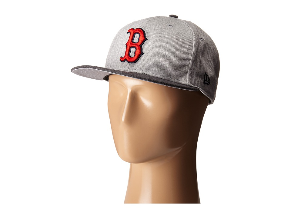 New Era - Heather Act Snap Boston Red Sox (Medium Gray) Caps