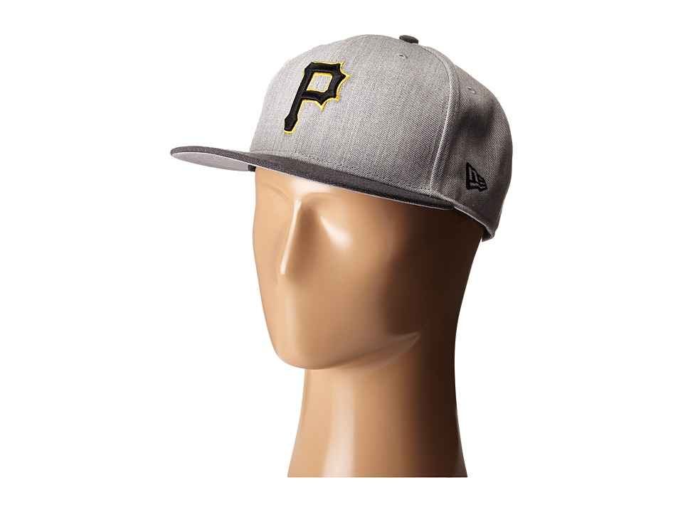 New Era - Heather Act Snap Pittsburgh Pirates (Medium Gray) Caps
