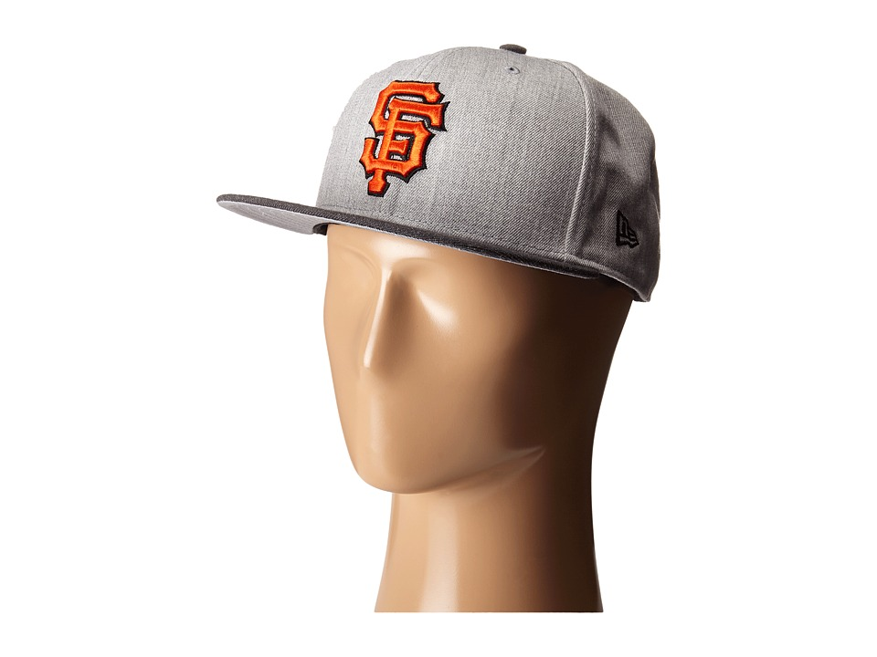 New Era - Heather Act Snap San Francisco Giants (Medium Gray) Caps