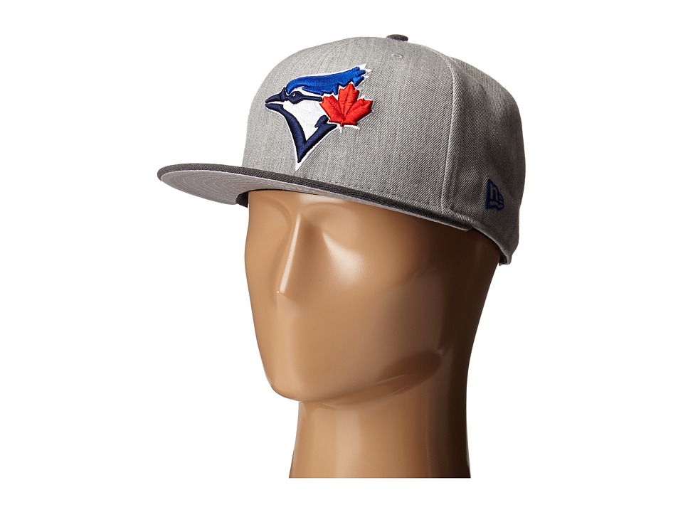 New Era - Heather Act Snap Toronto Blue Jays (Medium Gray) Caps