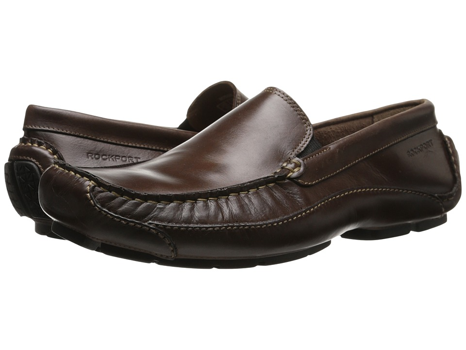 Rockport - Luxury Cruise Venetian (Brown) Men's Shoes