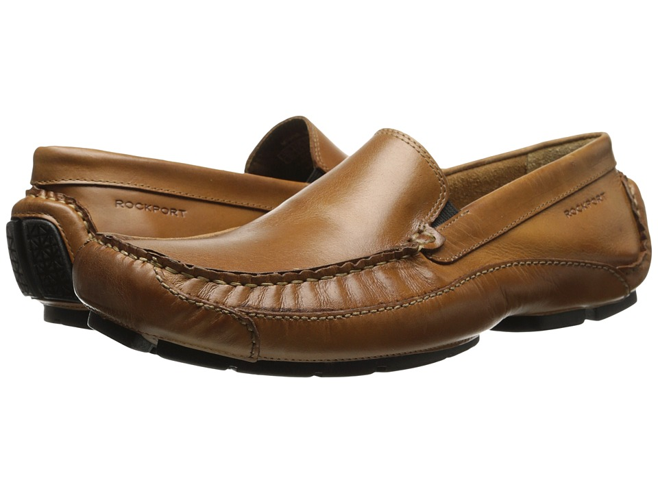Rockport - Luxury Cruise Venetian (Tan) Men's Shoes