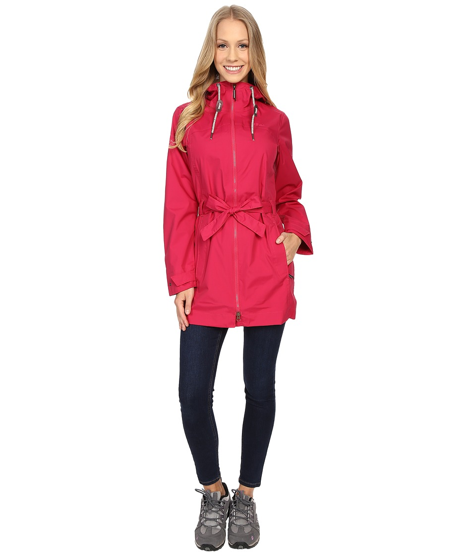 Jack Wolfskin - Kyoga Coat (Azalea Red) Women's Coat