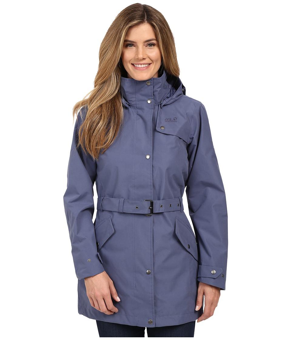 Jack Wolfskin Muconda Coat (Blue Indigo) Women
