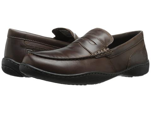 Rockport - Rocker Landing II Penny (Coffee Bean) Men's Shoes