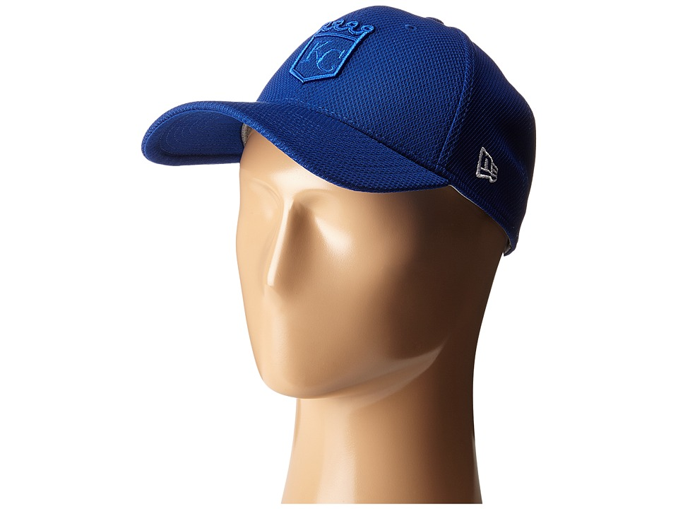 New Era - Logo Twist Kansas City Royals (Blue) Caps