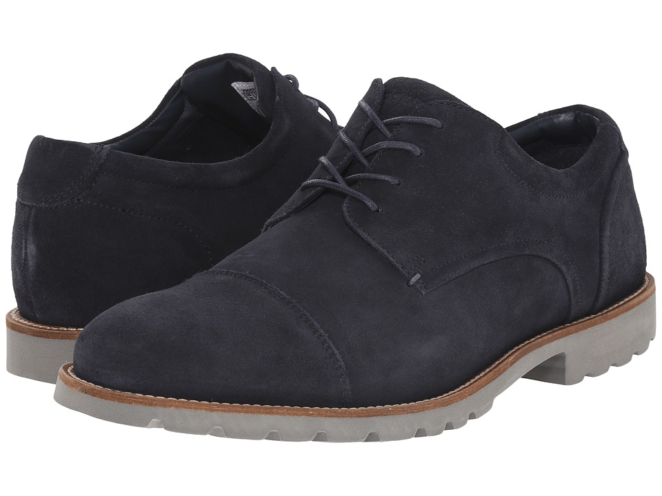 Rockport - Sharp Ready Channer (Navy/Grey) Men