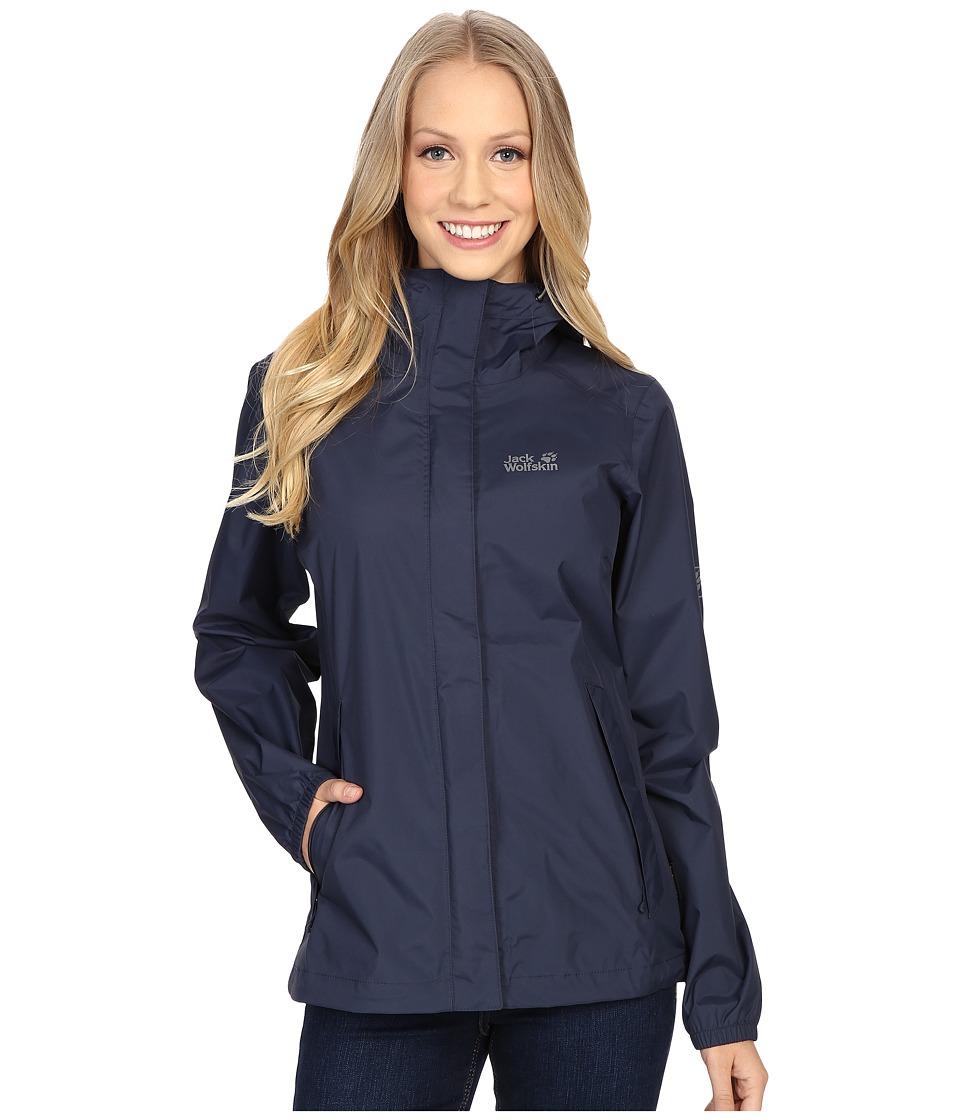 Jack Wolfskin - Cloudburst Jacket (Night Blue) Women's Coat