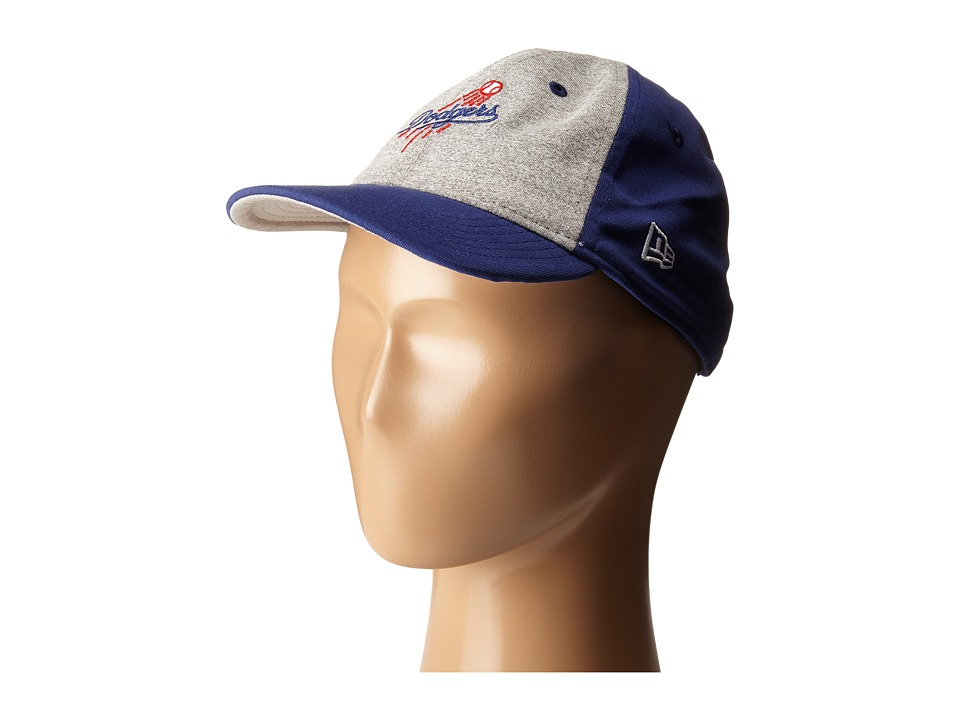 New Era - Heather Tot Los Angeles Dodgers (Infant/Toddler) (Gray) Caps