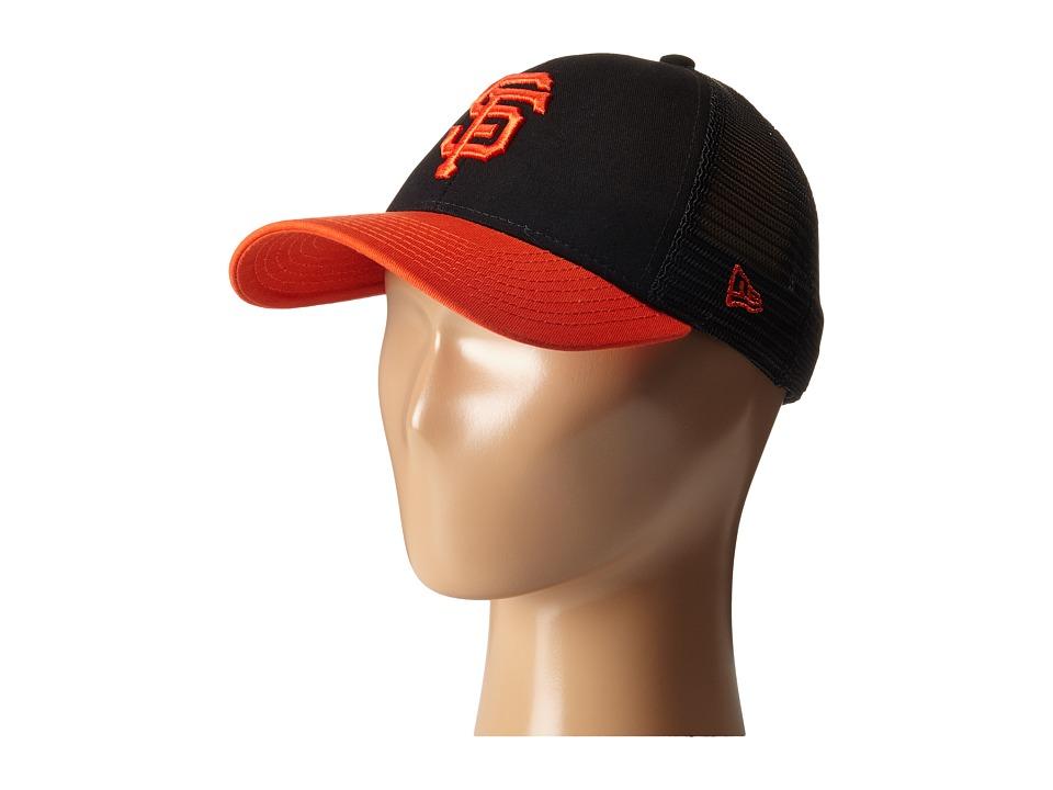 New Era - Mascot Mixer San Francisco Giants (Toddler/Youth) (Black) Caps